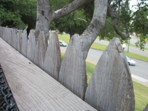 Behind the Fence on the Grassy Knoll